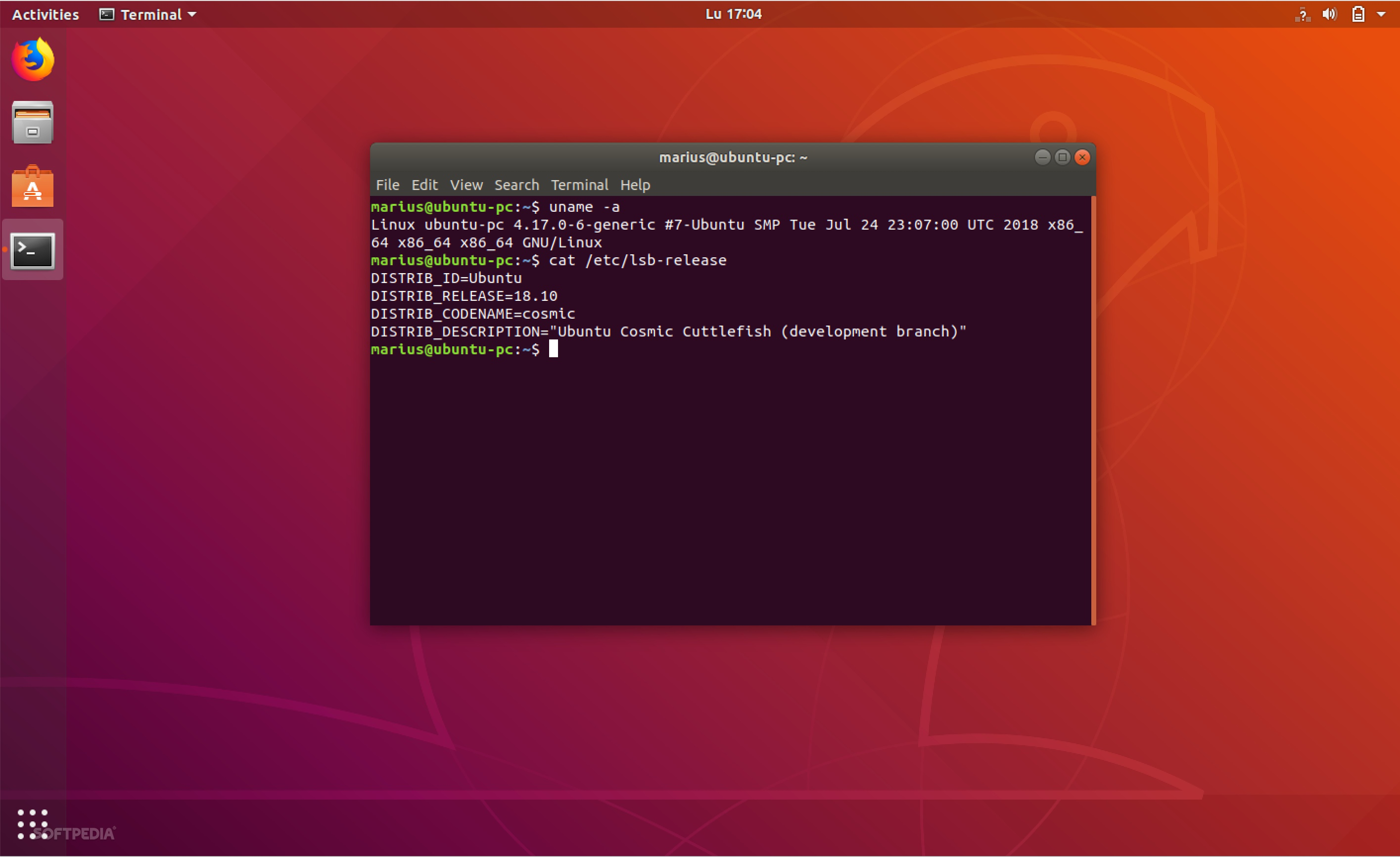 Ubuntu 18 10 (Cosmic Cuttlefish) Is Now Powered by the Linux 4 17 Kernel
