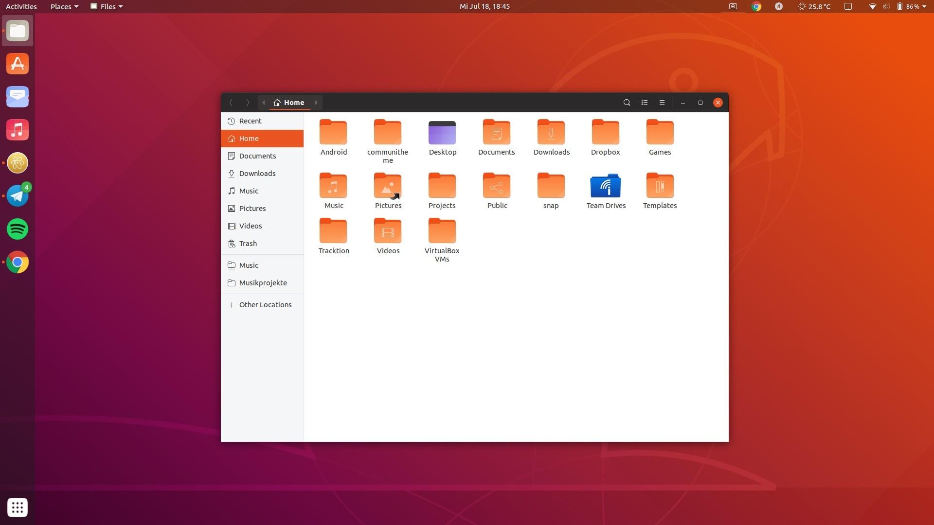 Ubuntu 1810s new community theme is named yaru heres what it gnome shell theme reheart Images