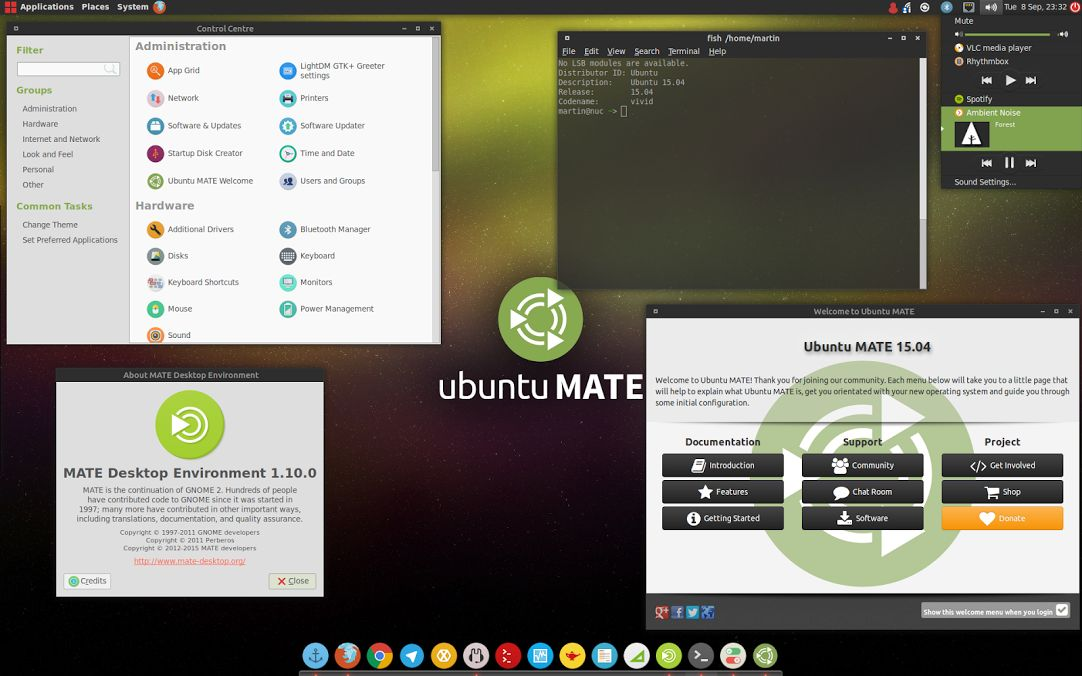Ubuntu MATE with the Numix Theme Looks Great, Might Get