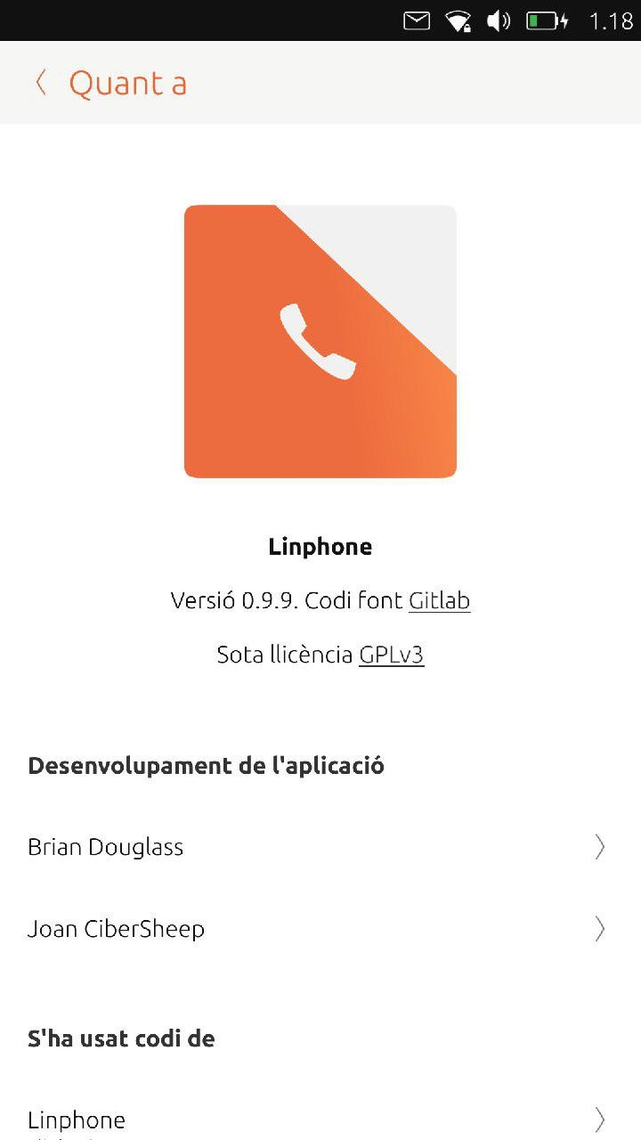 Ubuntu Phone Users Now Finally Have a VoIP (Voice over IP) App, Linphone