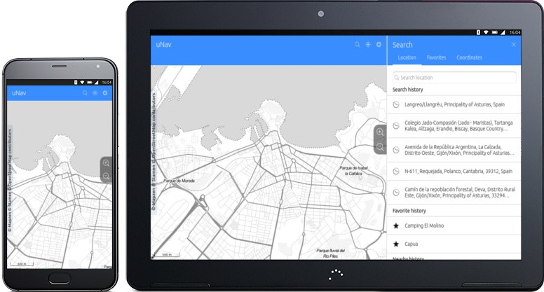 uNav GPS Navigation App for Ubuntu Phones Now Offers Offline