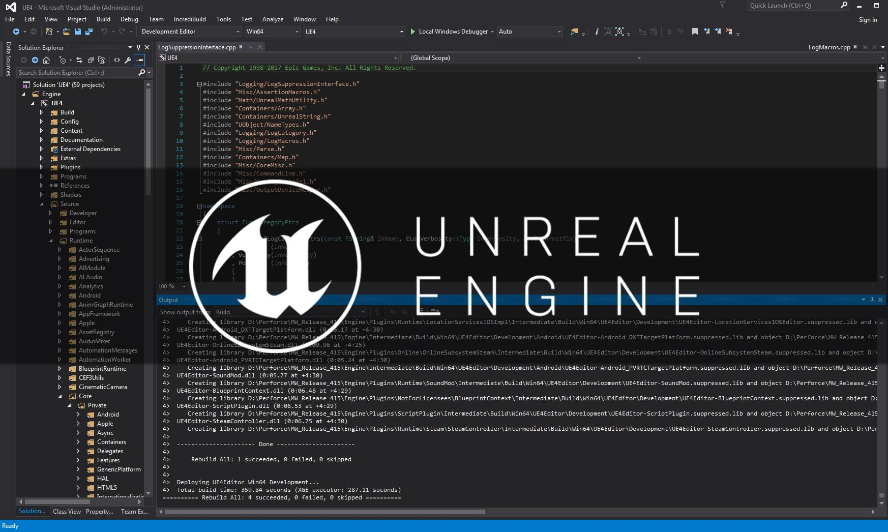unreal engine 4 linux vs windows