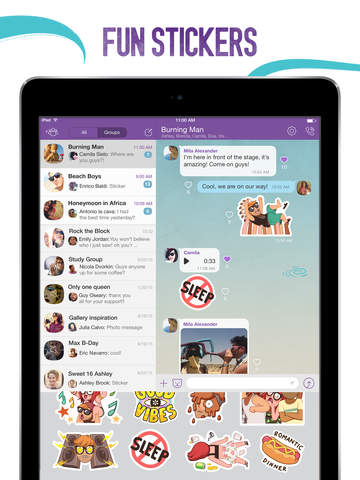 Viber for Android & iOS Updated with Group Likes, Better