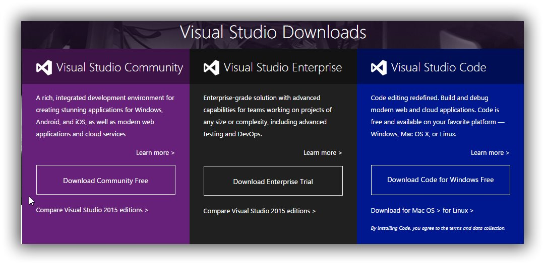 Visual Studio 2015 Now Available for Download