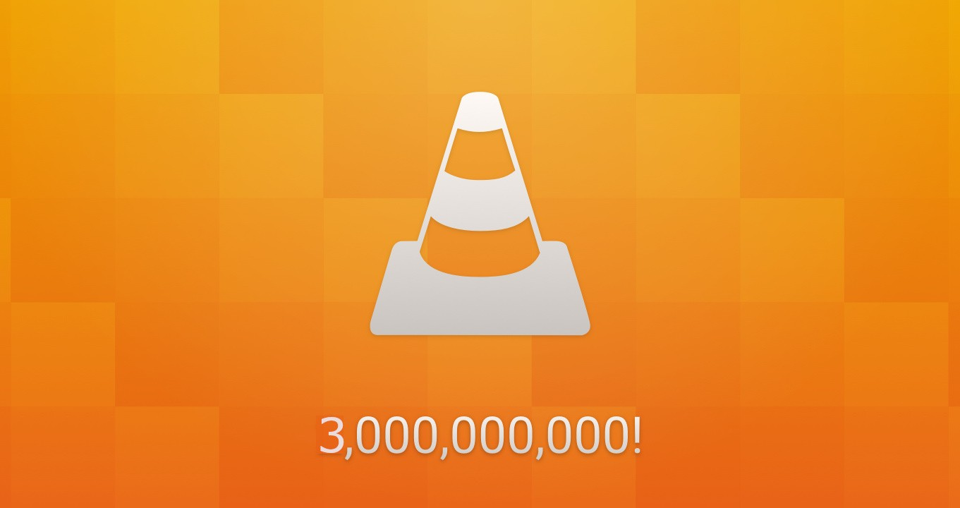 VLC has three billion downloads