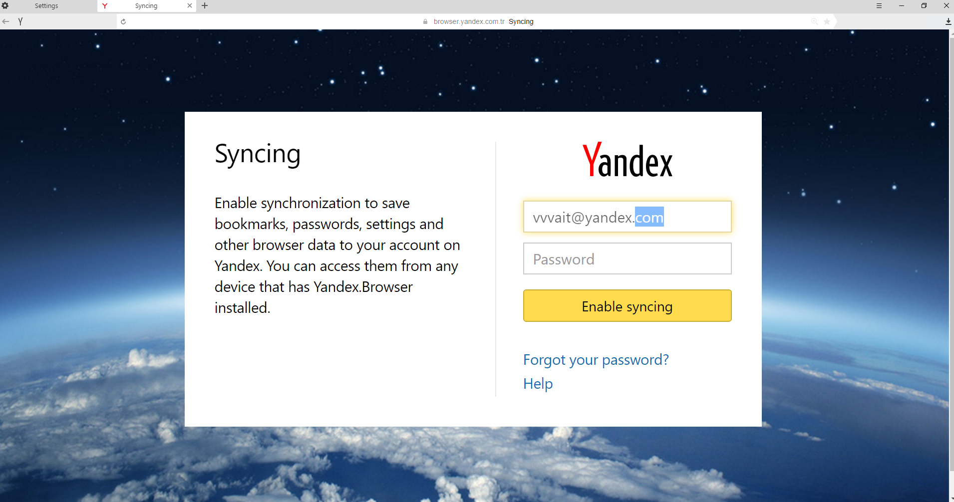 tor for yandex browser