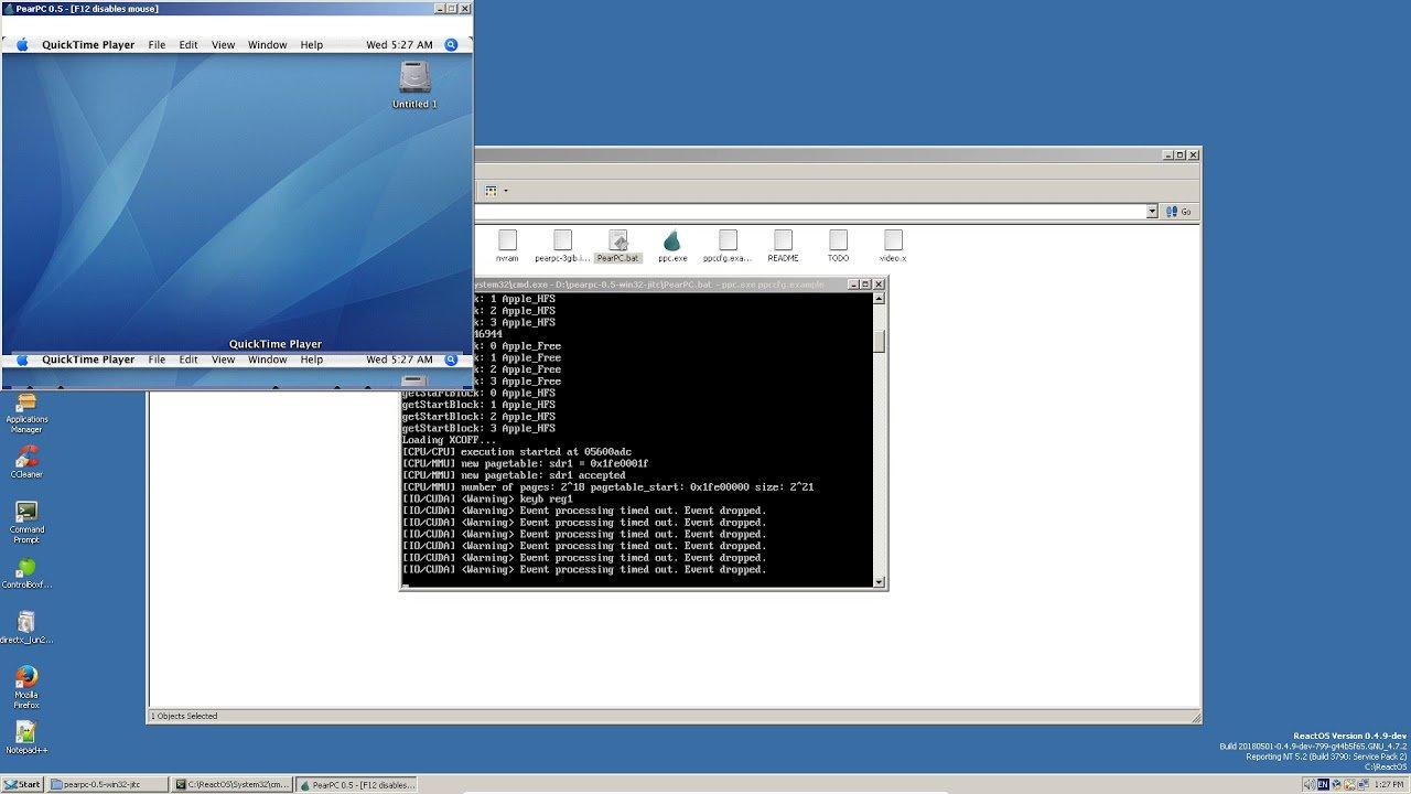 emulate mac on windows 10