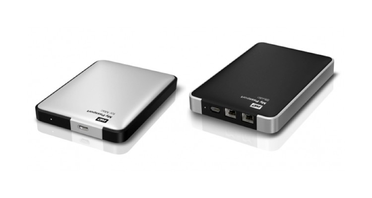 Western Digital My Passport Hard Drives Come with a Slew of