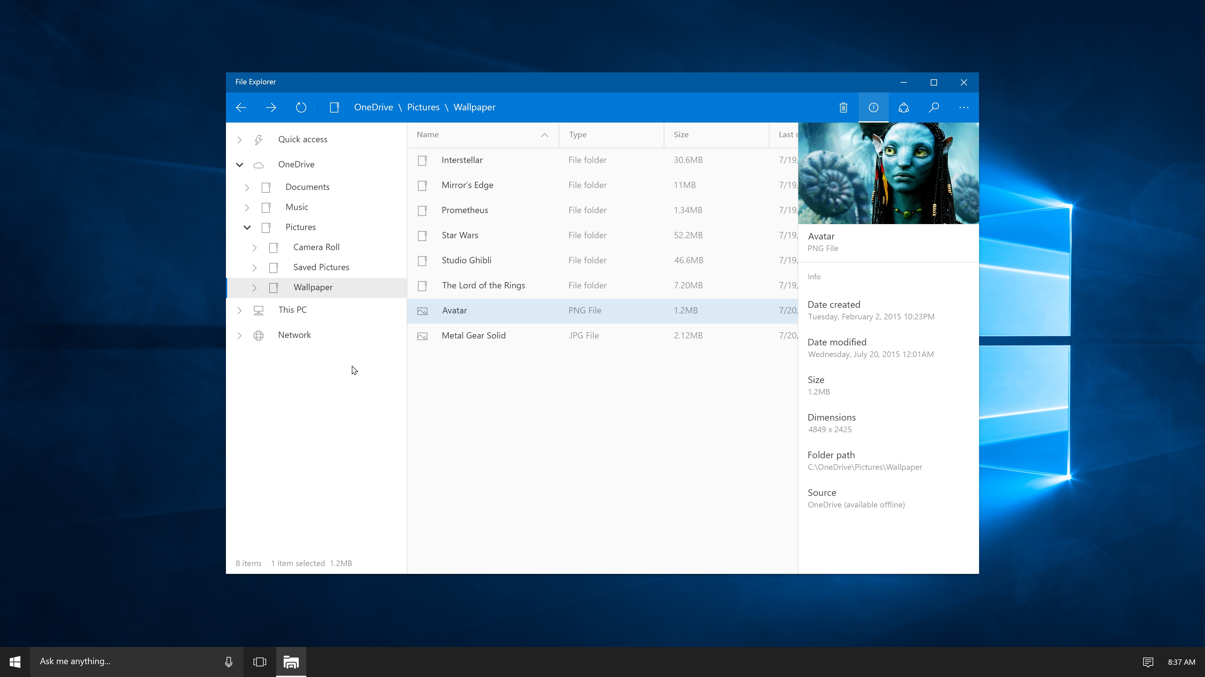 what a modern version of windows 10 u2019s file explorer could