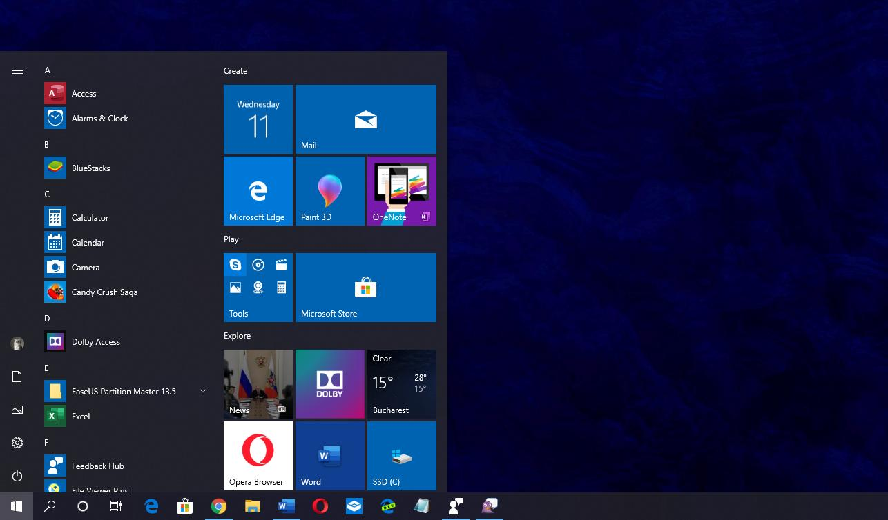 What's New in Windows 10 Cumulative Update KB4515384 for