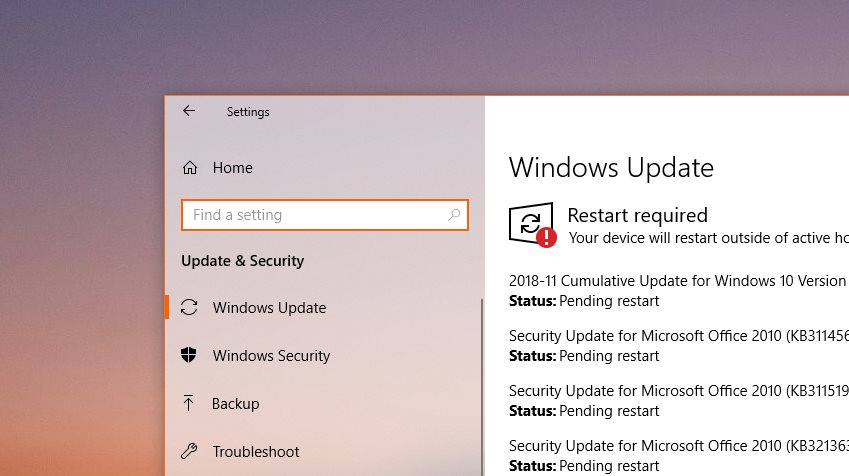 office 2010 not working with windows 10