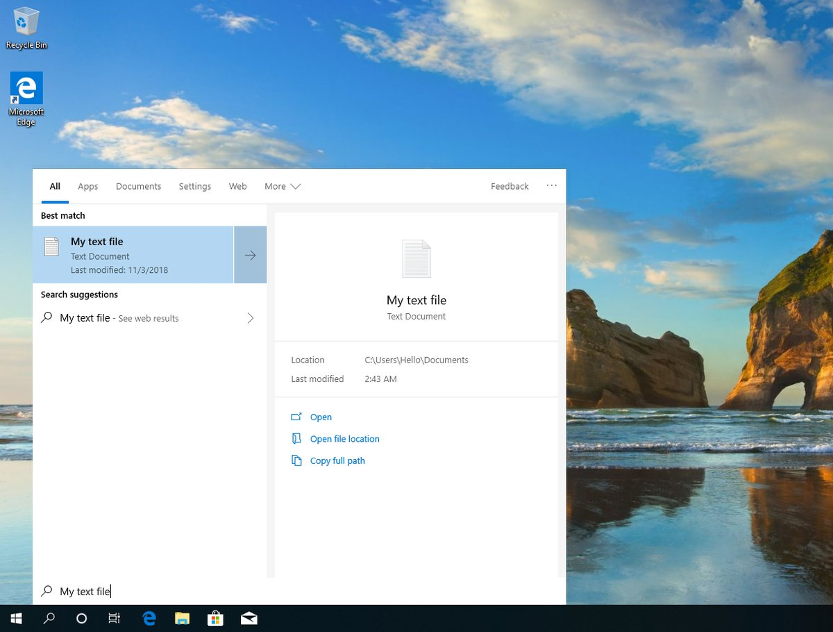 Windows 10 19H1 Will Come with a Major Change on the Desktop