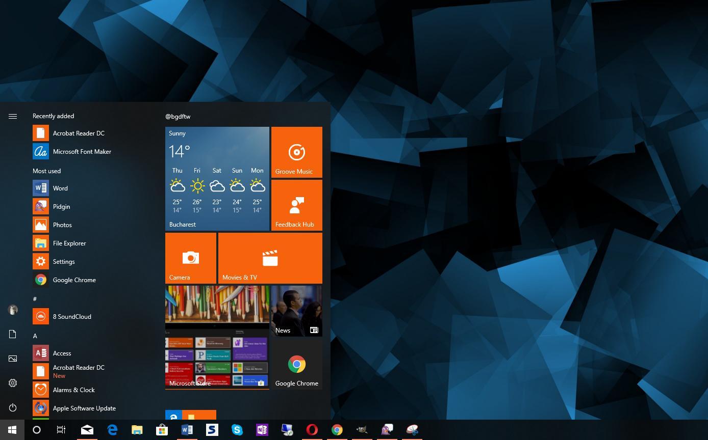 Groovy Windows 10 April 2018 Update Bricks Pcs With Desktop Download Free Architecture Designs Rallybritishbridgeorg