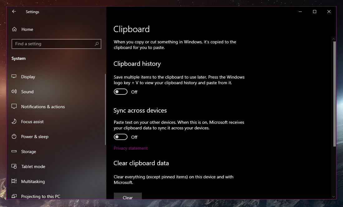 Windows 10 Clipboard Will Sync with Android Phones via