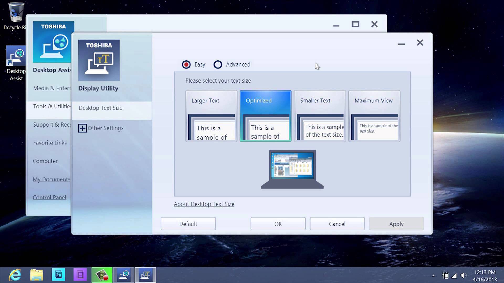 Toshiba Display Utility blocking Windows 10 Creators Update