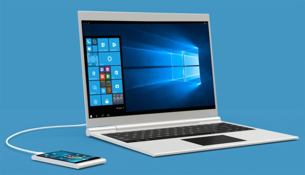 Windows 10 Mobile Devices Can Become 14 Inch Laptops For Just 99