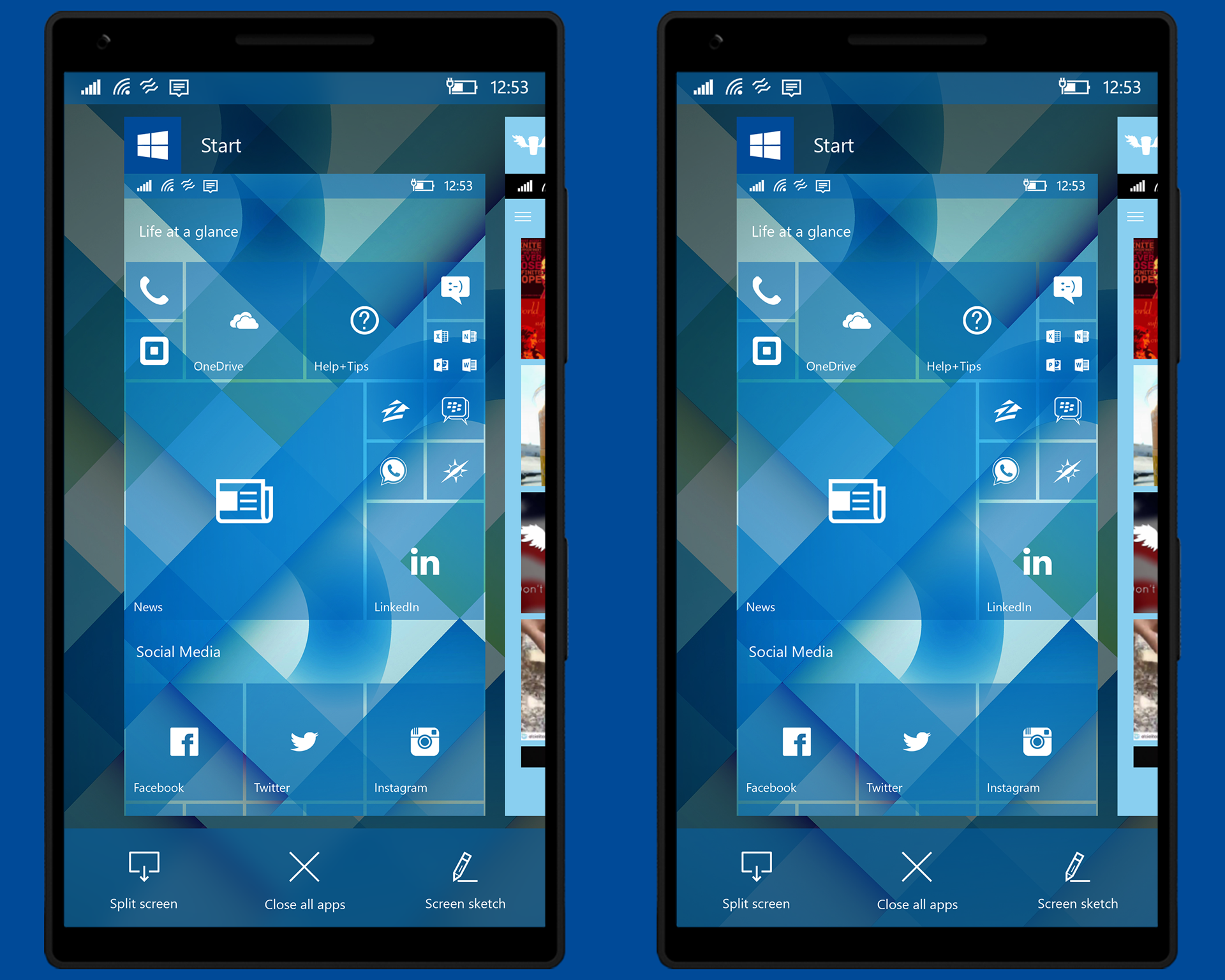 Windows 10 Mobile Gets a Facelift and New Features in User