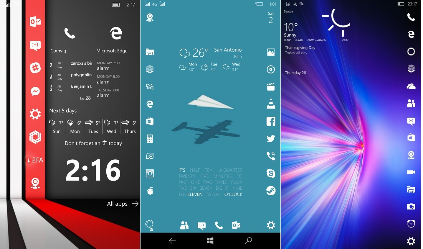Pleasing Windows 10 Mobile Start Screen Vs Ios Home Screen Beauty Download Free Architecture Designs Boapuretrmadebymaigaardcom