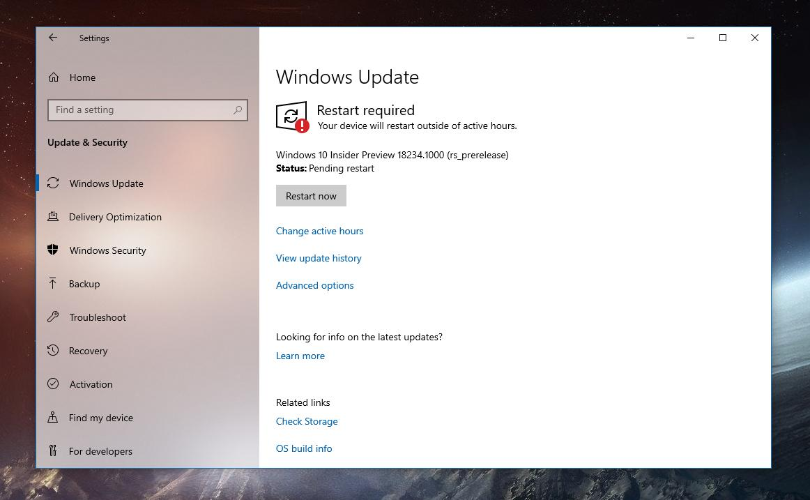 Windows 10 October 2018 Update How Windows Update Prevents