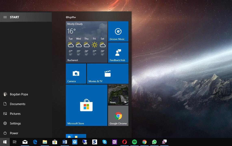 1809 Menu windows 10 october 2018 update: start menu improvements