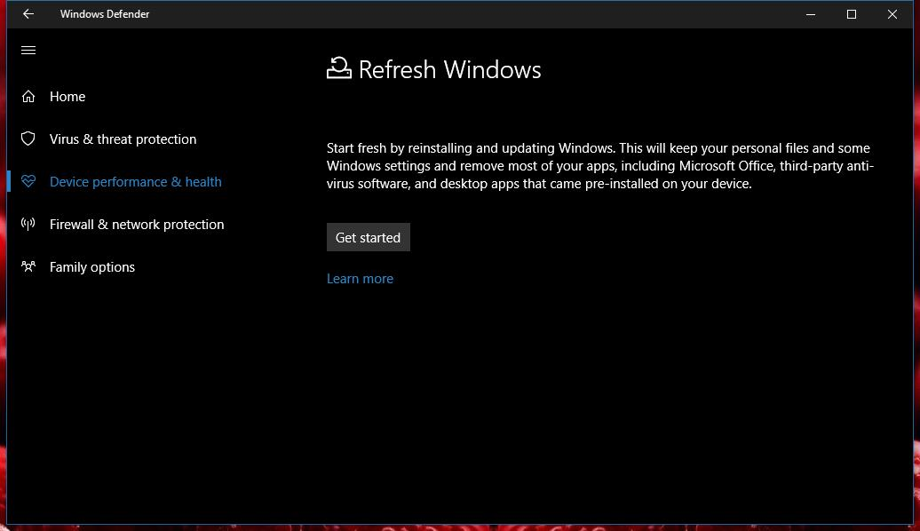 Windows 10's Antivirus Gets a Major Update in Latest Redstone 2 Build