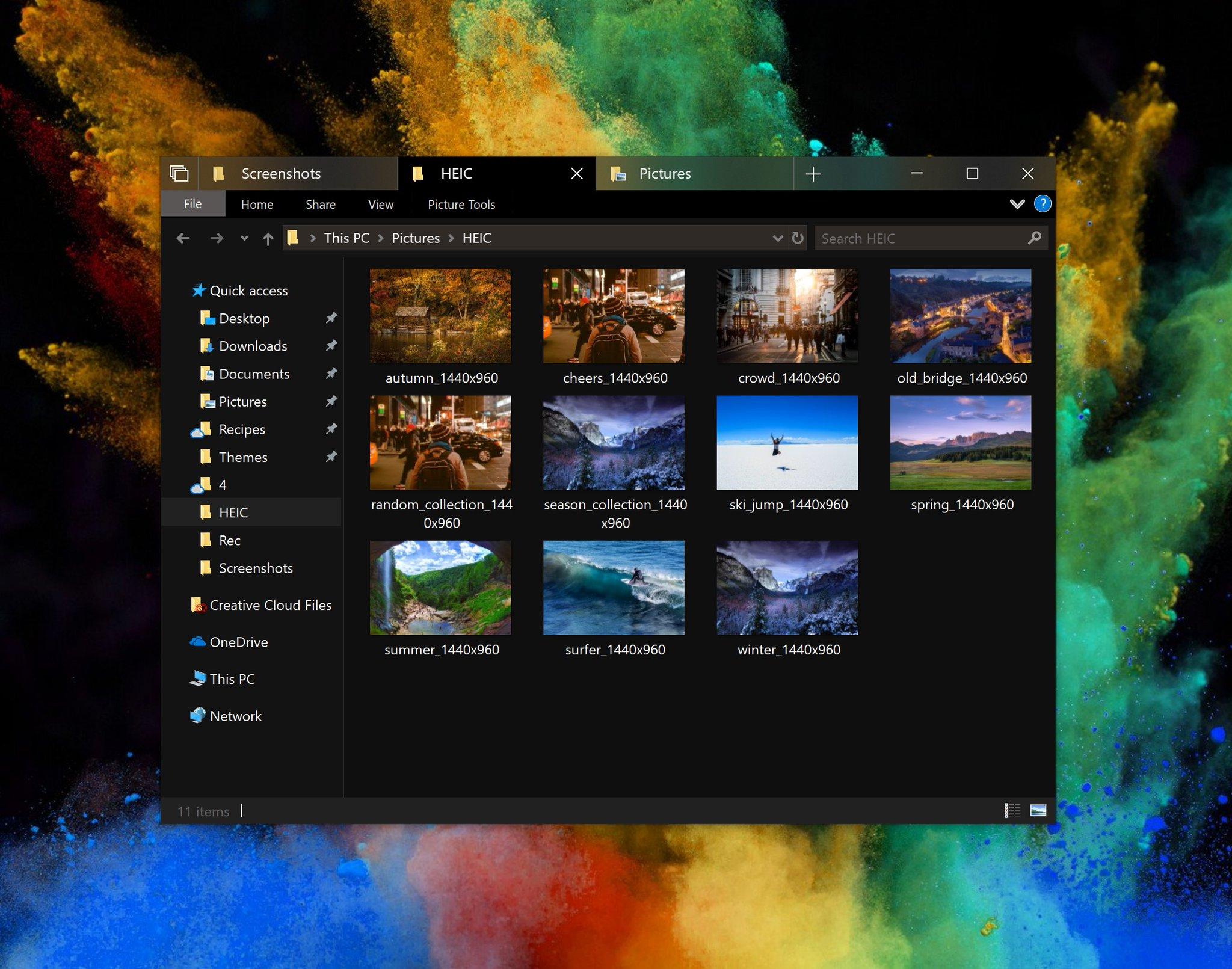 Windows 10's Dark Theme for File Explorer Finally Ready to Take on