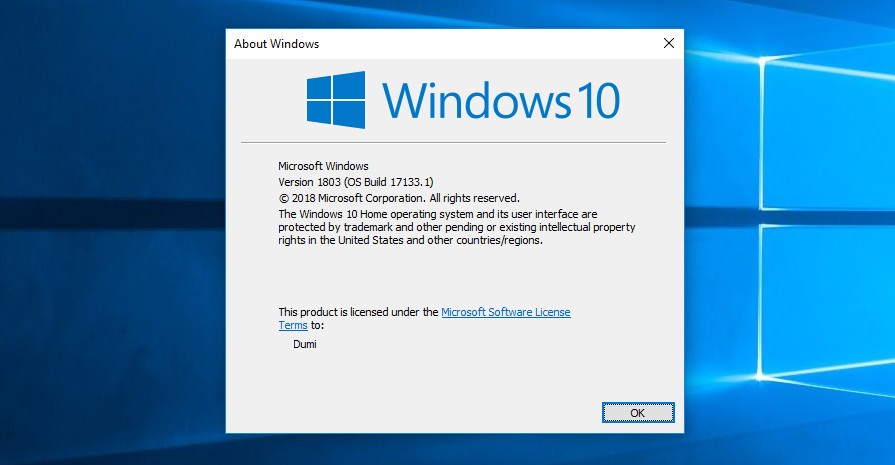 patch windows 10 1803