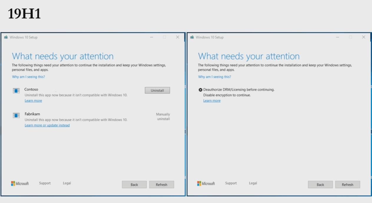 Windows 10 Version 1903 Will Make It Easier to Fix Errors Blocking