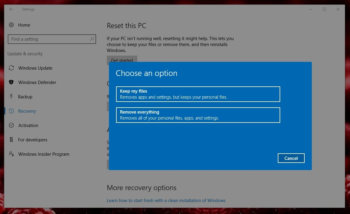 Windows Defender Can Now Fix Slow or Crashing Windows 10