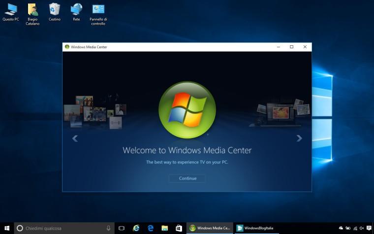 Latest update for windows media center server support windows 2008
