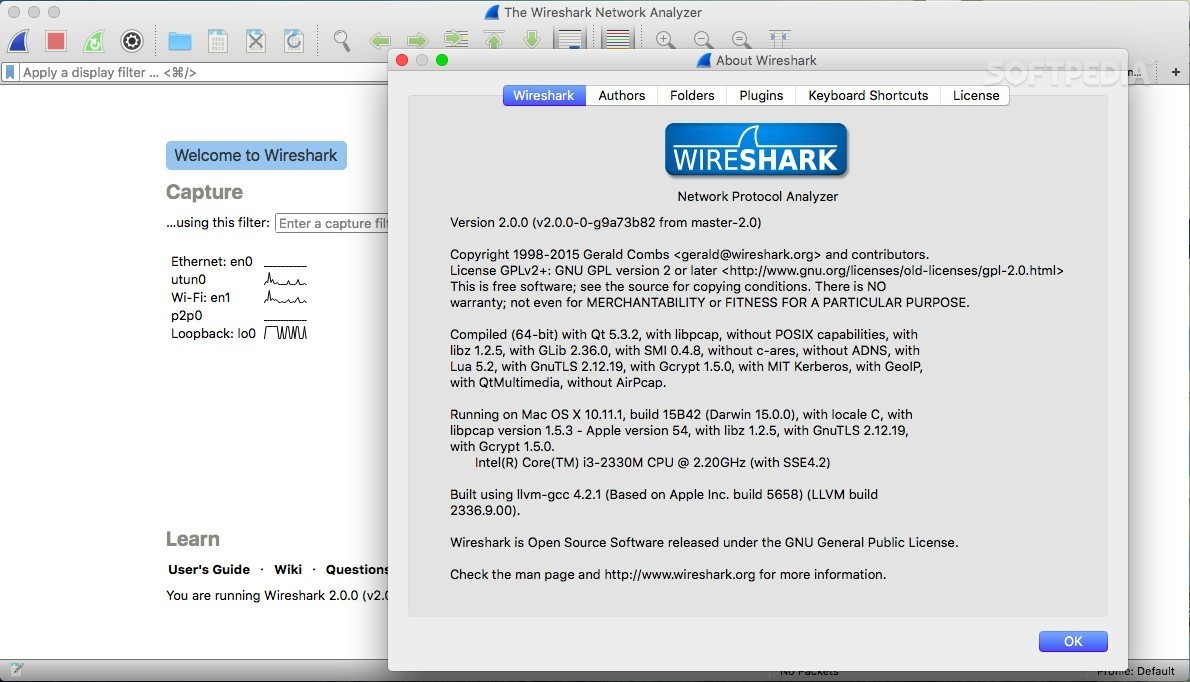 Wireshark 2 0 3 Free and Popular Network Scanner Released