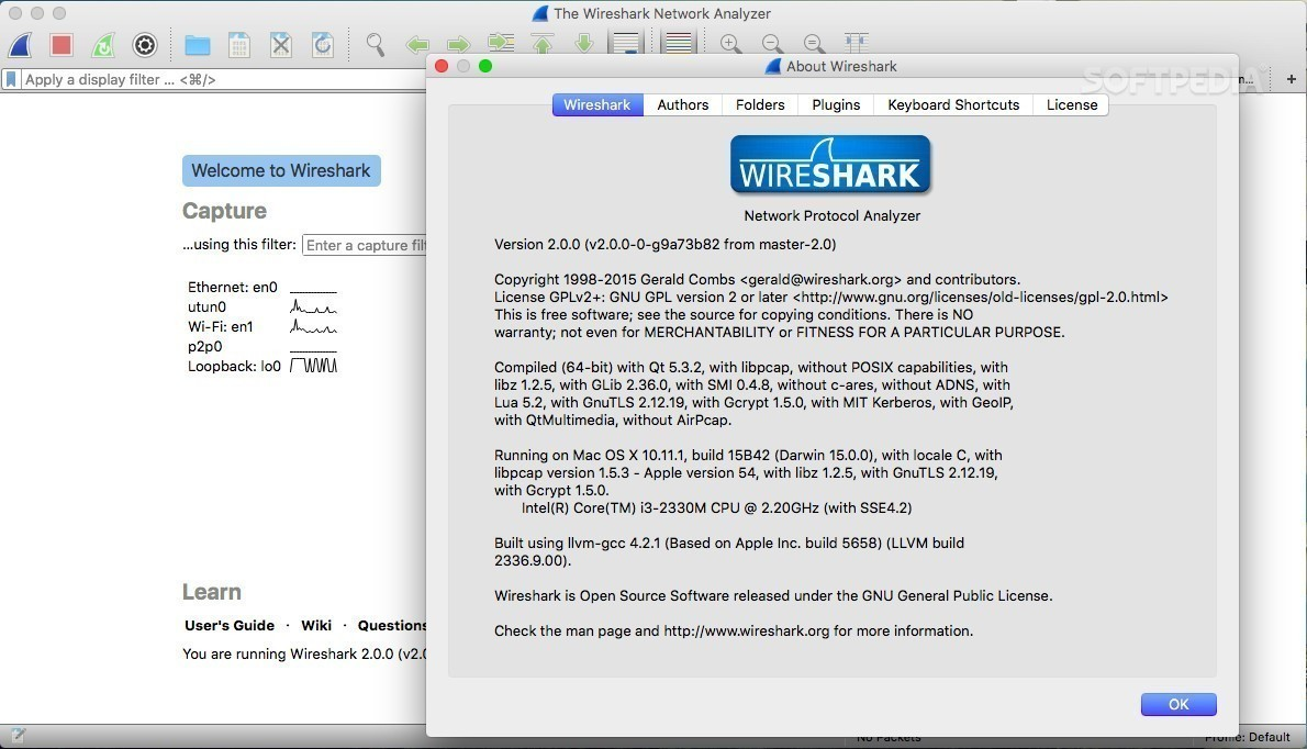 Wireshark 2 2 1 Network Protocol Analyzer Adds Ascend & K12