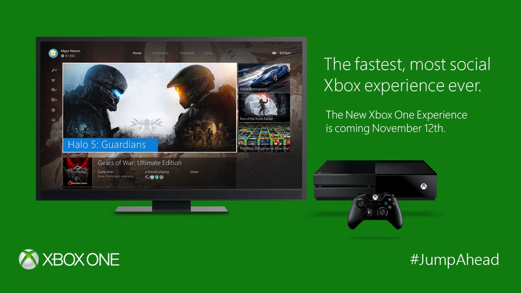 Xbox One to Get Windows 10 Redesign and Backwards