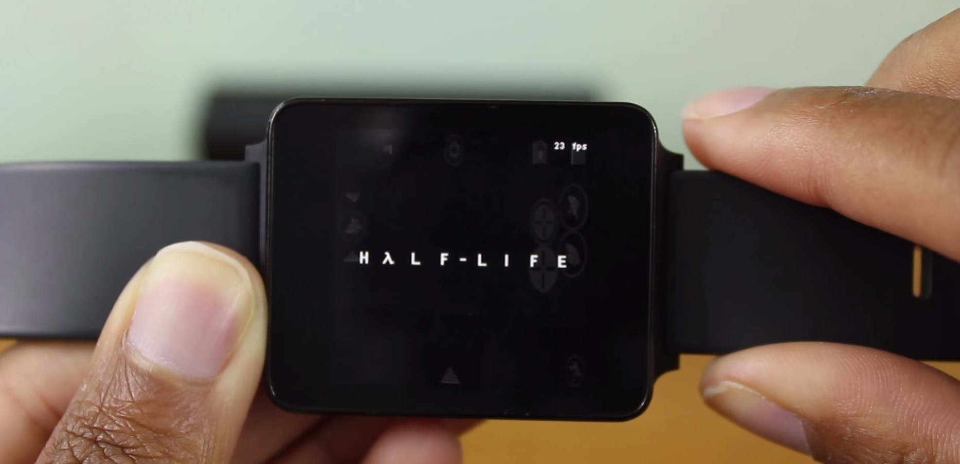 Yep, Smartwatches Will Run Half Life with Ease