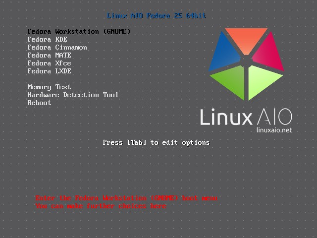 You Can Now Have All the Official Fedora 25 Linux Spins on a