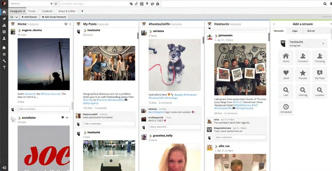 You can now schedule instagram posts with hootsuite kind of hootsuite adds instagram support ccuart Gallery