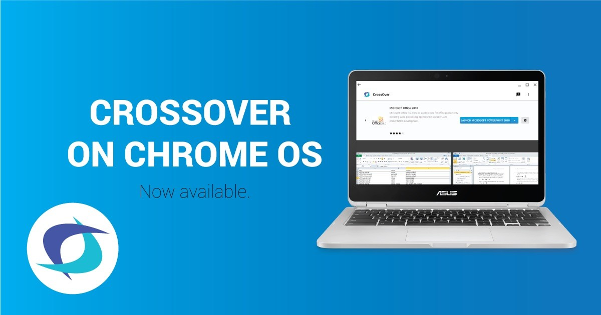 You Can Now Run Windows Apps on Chromebooks with ChromeOS