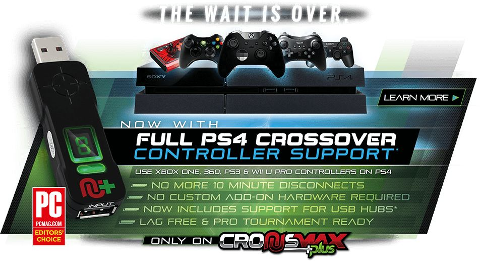 You Can Use Mouse and Keyboard on Any Console with CronusMAX